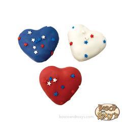 USA Mini Hearts, 60/Case, Dog Bless America, MSRP $0.99 - $1.25
