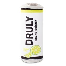Druly Lickin' Lime Plush Dog Toy