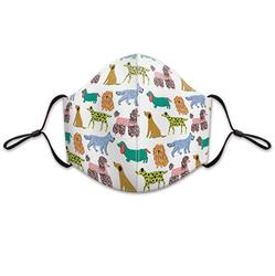 Sophisticated Dog Reusable 3-layer Cotton Face Mask
