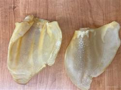 Full Size Golden Pig Ears From Brazil, Bulk