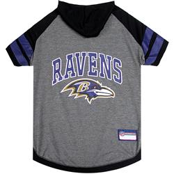 Baltimore Ravens Hoody Dog Tee by Pets First