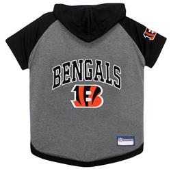 Cincinnati Bengals Hoody Dog Tee by Pets First