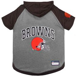 Cleveland Browns Hoody Dog Tee by Pets First