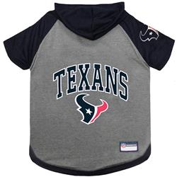 Houston Texans Hoody Dog Tee by Pets First