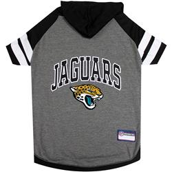 Jacksonville Jaguars Hoody Dog Tee by Pets First