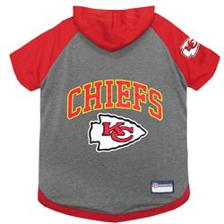 Kansas City Chiefs Hoody Dog Tee by Pets First