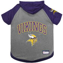 Minnesota Vikings Hoody Dog Tee by Pets First
