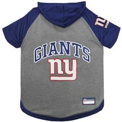 New York Giants Hoody Dog Tee by Pets First