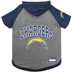 Los Angeles Chargers Hoody Dog Tee by Pets First