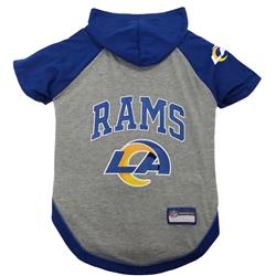 Los Angeles Rams Hoody Dog Tee by Pets First