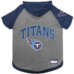 Tennessee Titans Hoody Dog Tee by Pets First