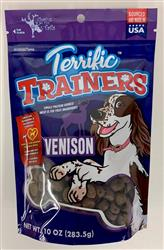 Terrific Trainers, Venison, 10oz