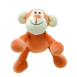 Beginnings Oscar Monkey Plush Dog Toy