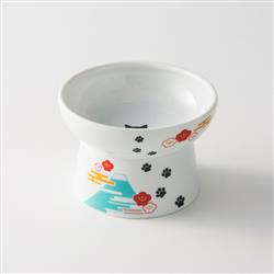 Raised Cat Food Bowl (Fuji Limited Edition)