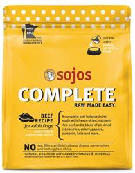 Sojo's Complete Dog Food Mix - Beef Recipe 1.75 lb.