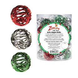 Zanies Jolly Jingle Balls Cat Toys, 45-Piece Canister