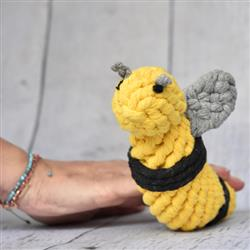 Bumblebee Rope Toy