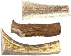 USA Small Split All Natural Elk Antlers Dog Chew Treats