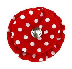 Blossom - Red/White Polka Dot