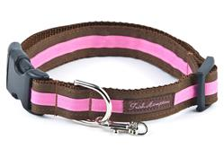 Chocolate/Hot Pink Stripe Collection