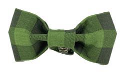 Bow Tie - Green/Black Buffalo Plaid