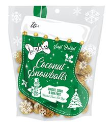 Coconut Snowballs Stocking by The Lazy Dog