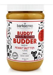 BUDDY BUDDER Begging Bacon - Unsalted Peanuts + Bacon + Honey