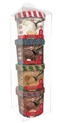 Scoops Ice Cream Holiday Gift Pack 4pk Assorted by Puppy Cake