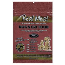 Air Dried 90% Turkey & Venison Dog & Cat Food - 14 oz Bag