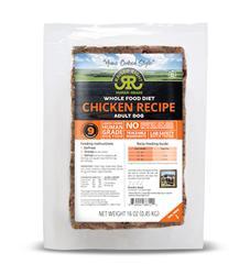 Raised Right Chicken Adult Dog Original Recipe, 1 lb Tray