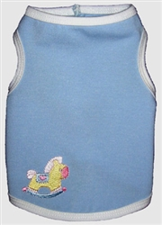 Baby Blue Tank by Ruff Ruff Couture®