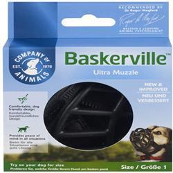 The Company Of Animals Dog Baskerville Ultra Muzzle Black Size 1