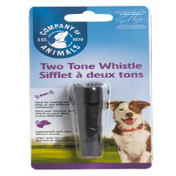 The Company Of Animals Dog Clix Two Tone Whistle