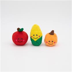 Fall Harvest Miniz 3pk by Zippy Paws