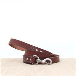 Brown Leather Dog Leash