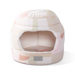 Canvas Color Block Pet Bed/Hut
