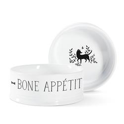 Julianna Swaney Bone Appetit Medium Pet Bowl