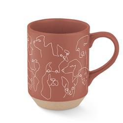 Loose Dog Line Mug