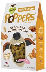 Snicky Snaks Peanut Butter Poppers Treat, 10 oz