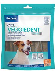 CET FR3SH™ Veggiedent Chews for Dogs - Small (30 Chews)