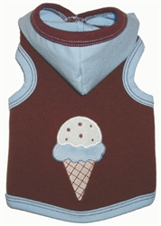 Gelato Blue Hoodie by Ruff Ruff Couture®