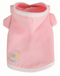 Baby Pink Hoodie by Ruff Ruff Couture®
