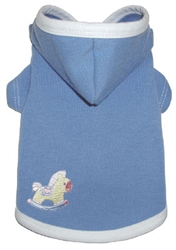 Baby Blue Hoodie by Ruff Ruff Couture®