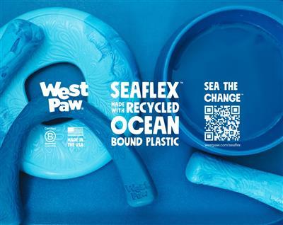 Seaflex™ Sea The Change™ sign