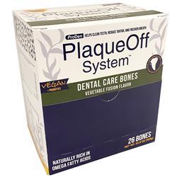 ProDen PlaqueOff Single Vegetable Dental Bones (Case of 26)