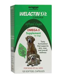 Welactin For Dogs Softgel Caps (120 Count)