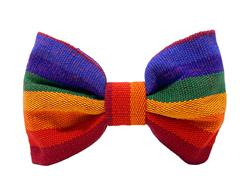 A Case of the Stripes Dog Bow Tie