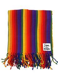 A Case of the Stripes - Artisan Cotton Throw Blanket