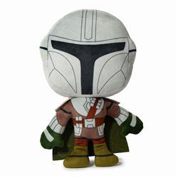 Dog Toy Squeaker Plush - Star Wars The Mandalorian Standing Pose