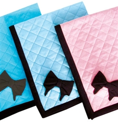Coco Bow Sky Blue Blankee Blanket by Ruff Ruff Couture®